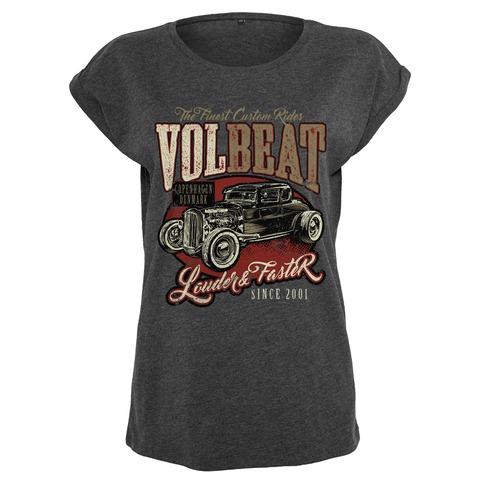 √Louder & Faster von Volbeat - Girlie Shirt jetzt im Bravado Shop