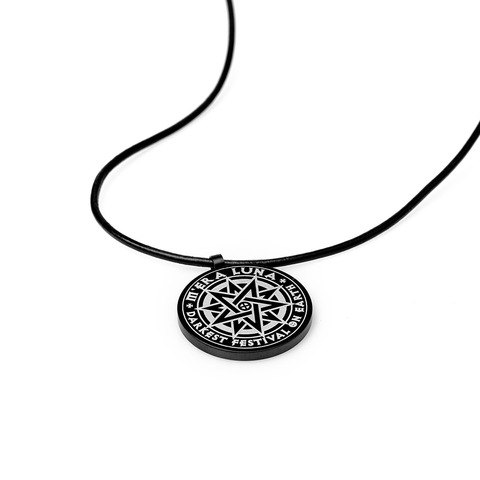 √The Darkest Festival on Earth von Mera Luna Festival - Pendant with leather band jetzt im Bravado Shop