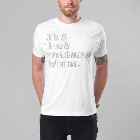√B&T Outline von Bibi & Tina - Unisex Shirt jetzt im Bravado Shop