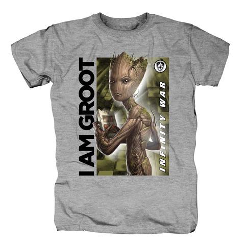 √Gaming Groot von Avengers - T-Shirt jetzt im Bravado Shop