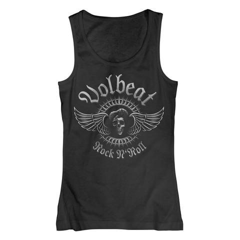 √Rock N Skull von Volbeat - Girlie Tank Top jetzt im Bravado Shop