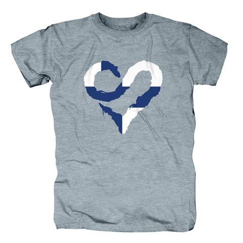 √Finnish Heart von Sunrise Avenue - T-Shirt jetzt im Bravado Shop