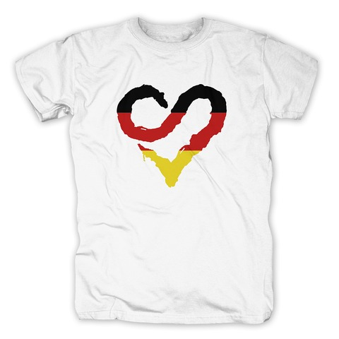 √German Heart von Sunrise Avenue - T-Shirt jetzt im Bravado Shop