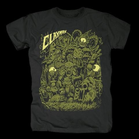 √Ghouls von Clayman Limited - T-Shirt jetzt im Bravado Shop