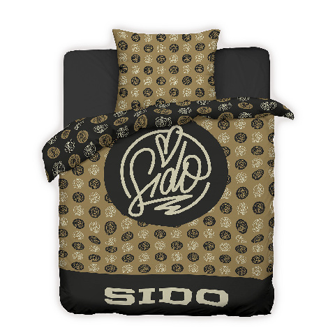 √Logo Allover von Sido - Wendebettwäsche jetzt im Bravado Shop