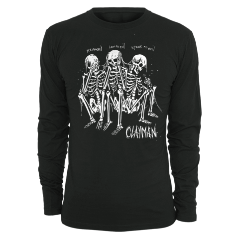 √Speak No Evil von Clayman Limited - Long-sleeve jetzt im Bravado Shop