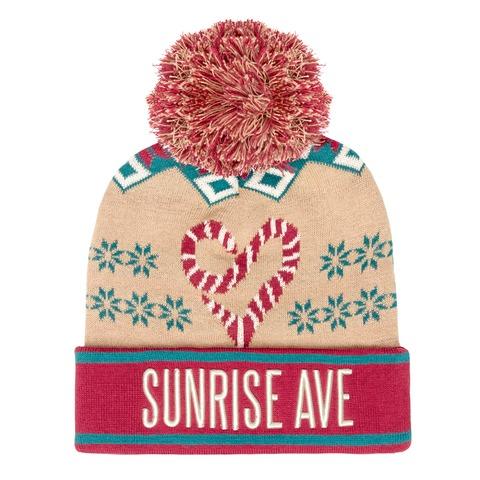 √Christmas Eve von Sunrise Avenue - Mütze mit Bommel jetzt im Bravado Shop