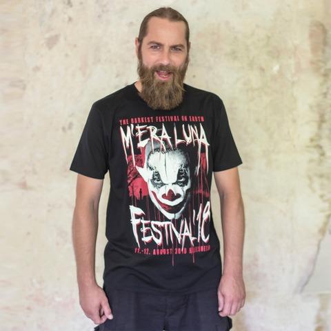 √Cemetery Glow Clown von Mera Luna Festival - T-Shirt jetzt im Bravado Shop