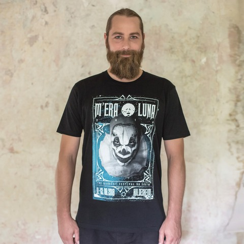√Clown Frame von Mera Luna Festival - T-Shirt jetzt im Bravado Shop