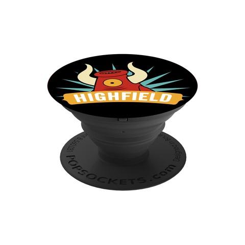 √Mascot Logo von Highfield Festival - Pop Socket jetzt im Bravado Shop