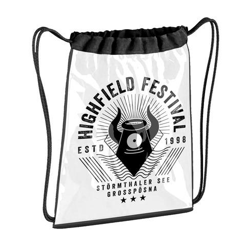 √Mascot Logo von Highfield Festival - Gym Bag jetzt im Bravado Shop