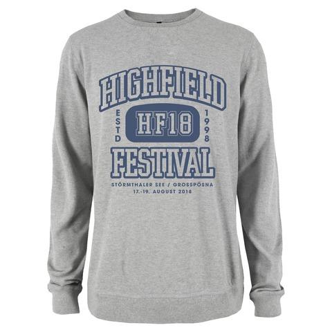 √HF18 von Highfield Festival - Crew Neck Sweat jetzt im Bravado Shop