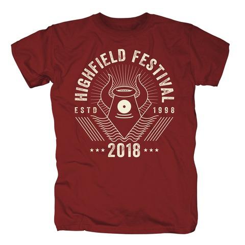 √Line Mascot von Highfield Festival - T-Shirt jetzt im Bravado Shop