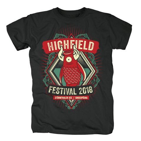 √Mascot Diamond von Highfield Festival - T-Shirt jetzt im Bravado Shop
