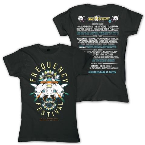 √Doppelkopf von Frequency Festival - Girlie Shirt jetzt im Bravado Shop