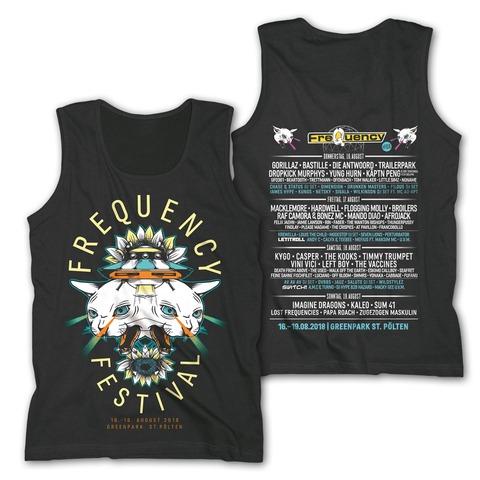 Doppelkopf von Frequency Festival - Tank Shirt jetzt im Bravado Shop