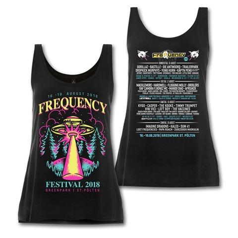 √Alien Invasion von Frequency Festival - Girlie Top jetzt im Bravado Shop