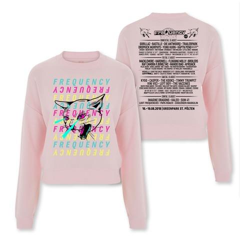 Color Kitten von Frequency Festival - Girlie Sweater jetzt im Bravado Shop