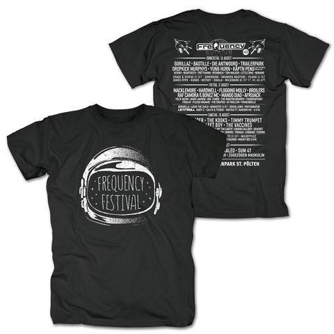 Helm von Frequency Festival - T-Shirt jetzt im Bravado Shop