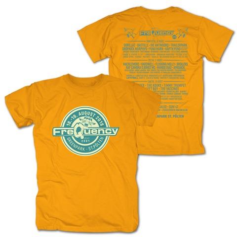 √Logo Badge von Frequency Festival - T-Shirt jetzt im Bravado Shop