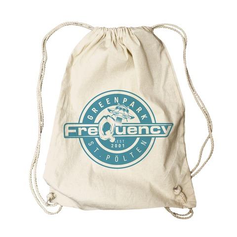 √Logo Badge von Frequency Festival - Gym Bag jetzt im Bravado Shop