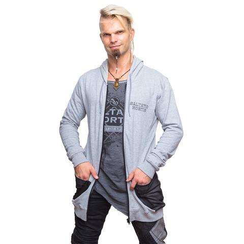 √Logo Star von Saltatio Mortis - Hooded jacket jetzt im Bravado Shop