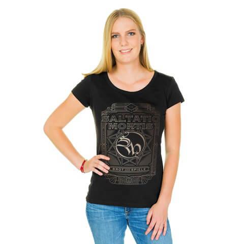 √Logo Frame von Saltatio Mortis - Girlie Shirt jetzt im Bravado Shop