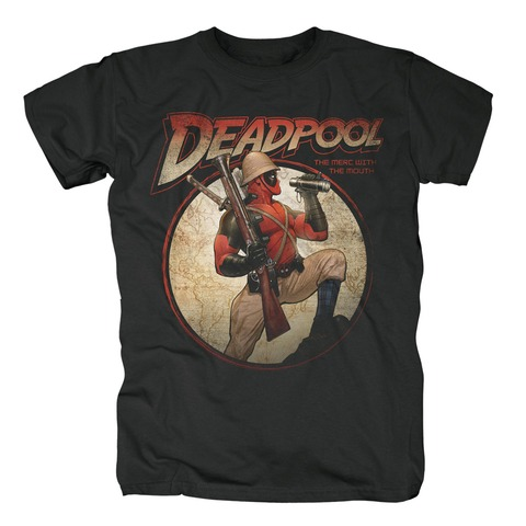 Time for Adventures von Deadpool - T-Shirt jetzt im Bravado Shop
