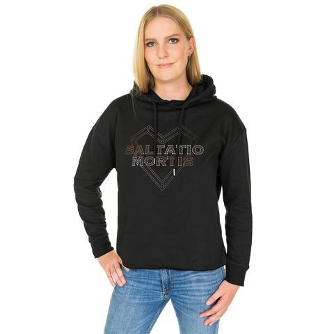 √Heart Logo von Saltatio Mortis - Girlie Oversized Sweater jetzt im Bravado Shop