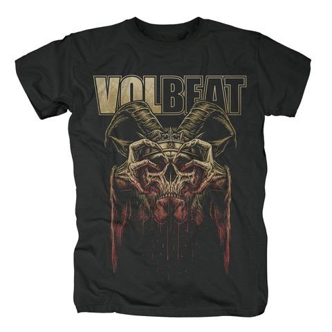 √Bleeding Crown Skull von Volbeat - T-Shirt jetzt im Bravado Shop