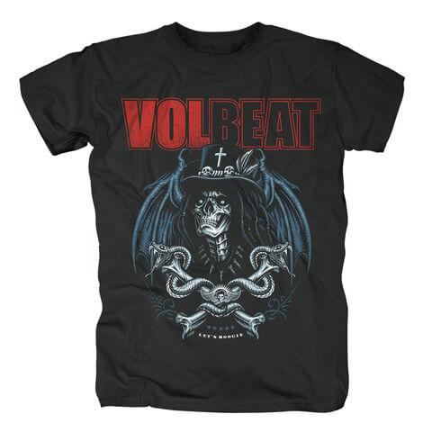 √Voodoo Boogie von Volbeat - T-Shirt jetzt im Bravado Shop