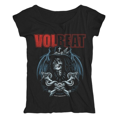 √Voodoo Boogie von Volbeat - Girlie Shirt Loose Fit jetzt im Bravado Shop