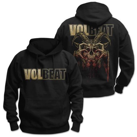 √Bleeding Crown Skull von Volbeat - Kapuzenpullover jetzt im Bravado Shop
