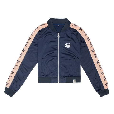 √Blue Track von Kontra K - Girl Trainingsjacke mit Zipper jetzt im Bravado Shop