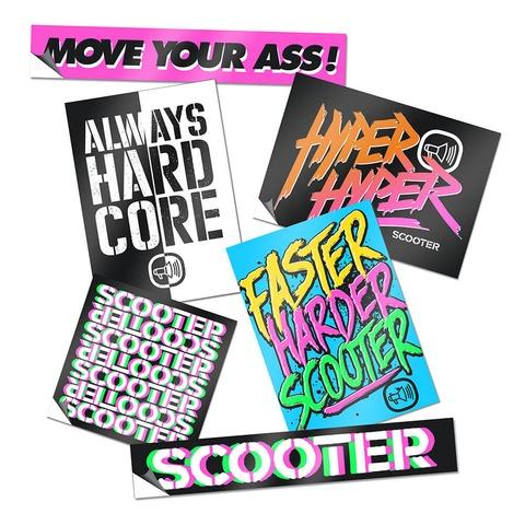 √Scooter von Scooter - Stickerset jetzt im Bravado Shop
