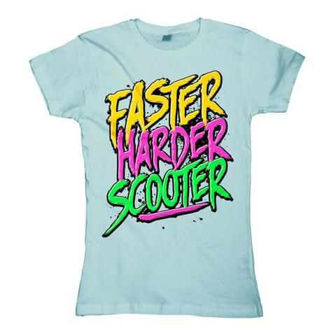 √Faster Harder Scooter von Scooter - Girlie Shirt jetzt im Bravado Shop