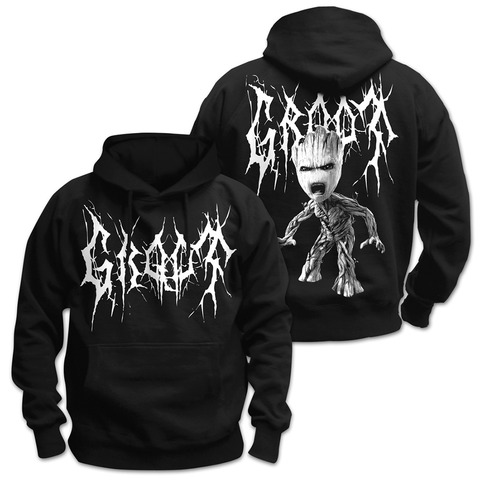 Black Metal Groot von Guardians of the Galaxy - Kapuzenpullover jetzt im Bravado Shop