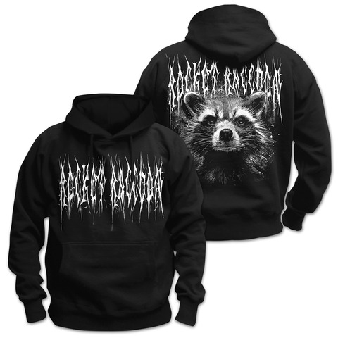 Black Metal Rocket von Guardians of the Galaxy - Kapuzenpullover jetzt im Bravado Shop