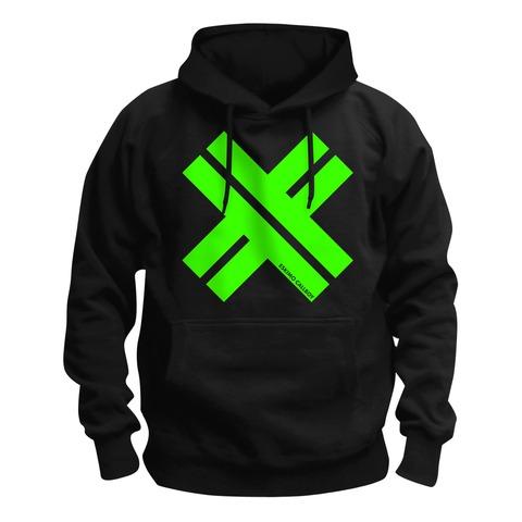 √Big X Green von Eskimo Callboy - Hood sweater jetzt im Bravado Shop
