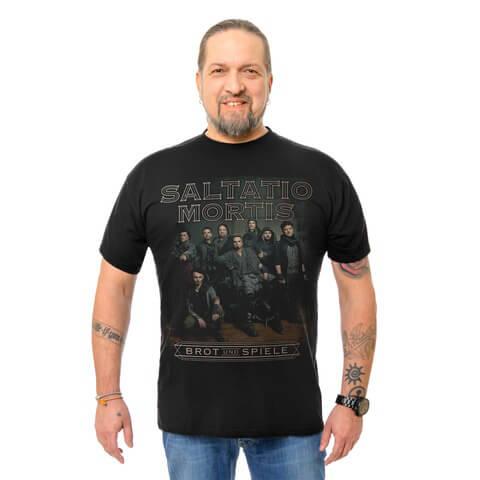√Band Portrait von Saltatio Mortis - T-Shirt jetzt im Bravado Shop