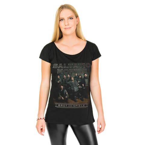 √Band Portrait von Saltatio Mortis - Loose Fit Girlie Shirt jetzt im Bravado Shop