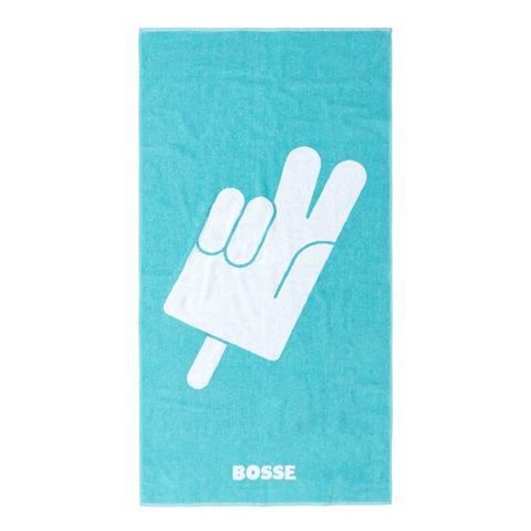 √Flutschi weiß von Bosse - Hand towel jetzt im Bravado Shop