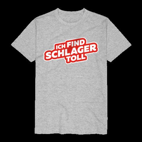 √Logo von Ich find Schlager toll - T-Shirt jetzt im Bravado Shop