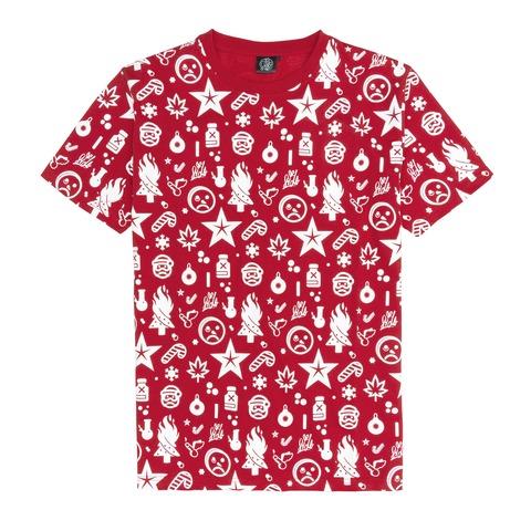 √Weihnachten Allover von Sido - T-Shirt jetzt im Bravado Shop