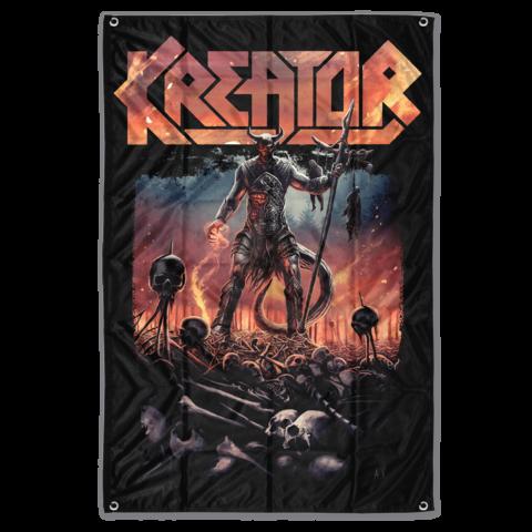 √Warrior von Kreator - Poster Flag jetzt im Bravado Shop