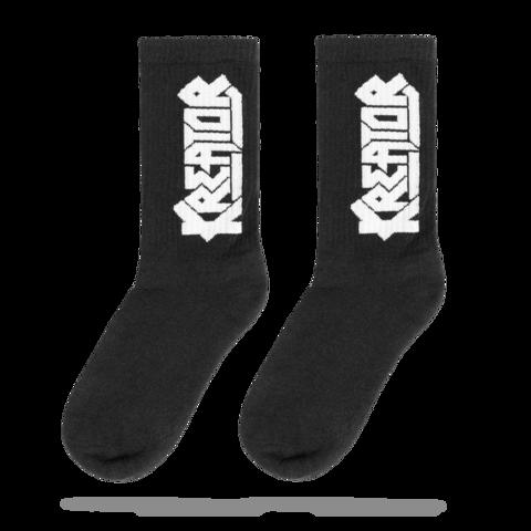 √White Logo von Kreator - Socks jetzt im Bravado Shop