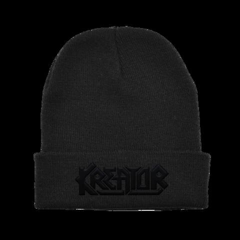 √Black on Black Logo von Kreator - Beanie jetzt im Bravado Shop