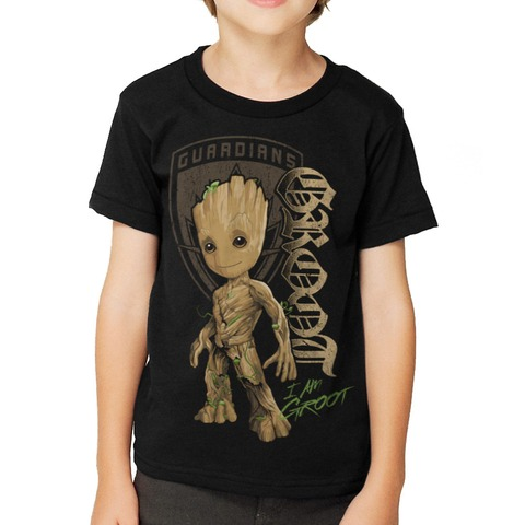 Groot Shield von Guardians of the Galaxy - Kinder Shirt jetzt im Bravado Shop