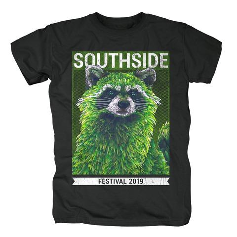 √Early Racoon von Southside Festival - T-Shirt jetzt im Bravado Shop
