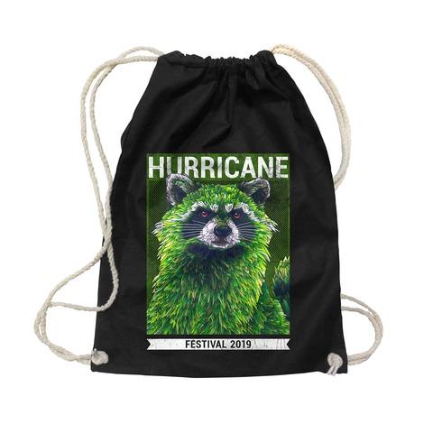 √Early Racoon von Hurricane Festival - Turnbeutel jetzt im Bravado Shop